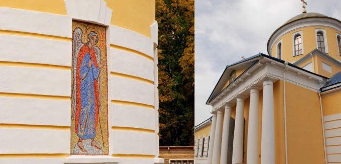 Реставрация собора Успения Пресвятой Богородицы в городе Зубцов Тверской области